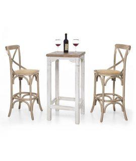 Tavolino Bar Laccato Bianco