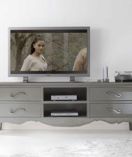 Porta TV Con Quattro Cassetti