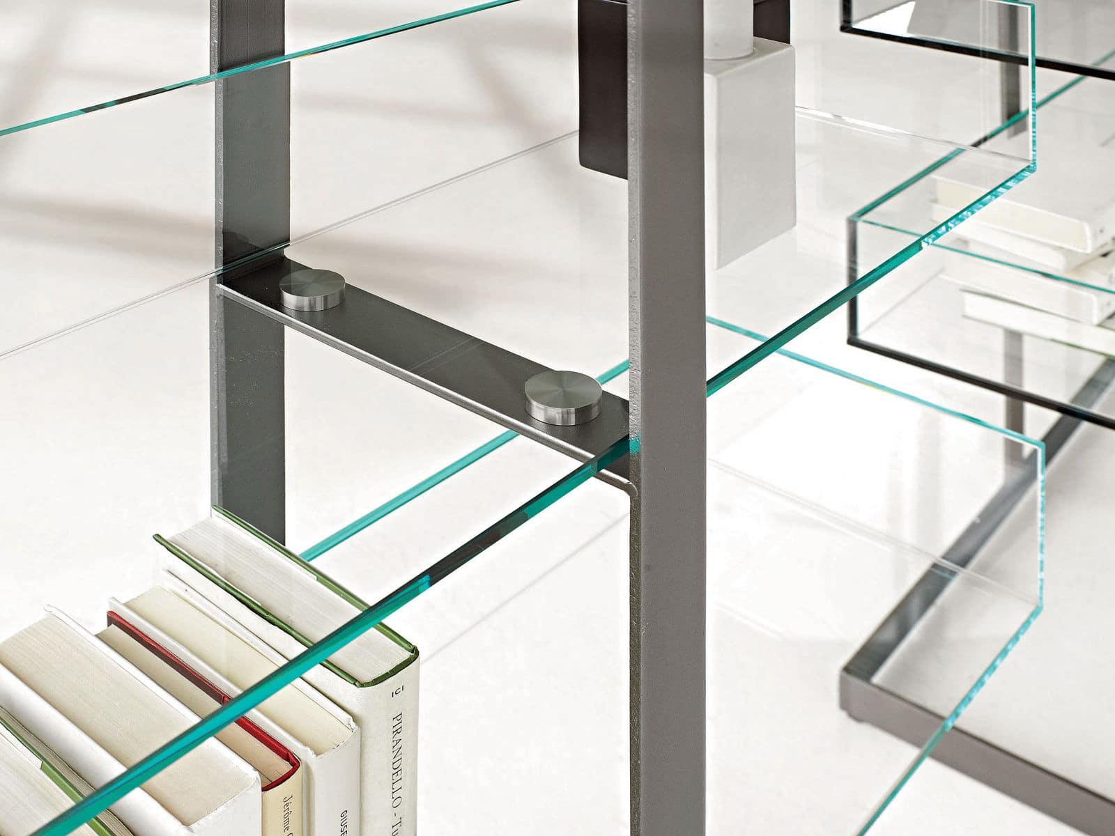 Libreria Libra in vetro